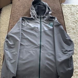 Nike Rain Jacket (Michigan State)